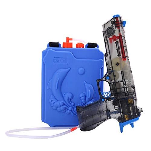 Wasserpistole erwachsene Kinder elektrische Wasserpistole Spielzeug Hochdruck Rucksack mit großer Kapazität Wasserpistole drei Modi automatische Wasserspray Sommer Outdoor Land Wasser Krieg Artefakt