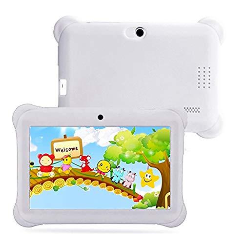 ELLENS Tabletas para niños de 7 Pulgadas Quad Core, 8GB ROM 32GB de Memoria extendida, Tableta Android con certificación GMS Google, Google Play preinstalado, Estuche Protector a Prueba de niños