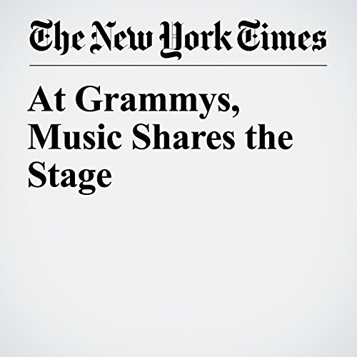 At Grammys, Music Shares the Stage copertina
