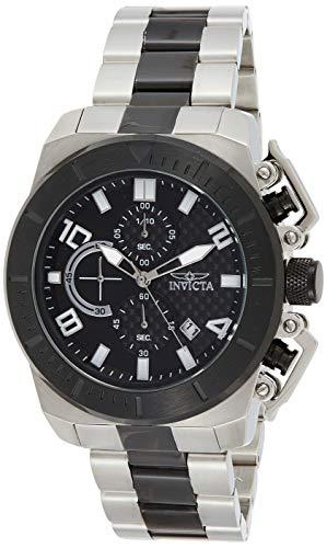 Invicta 23408 Pro Diver Reloj para Hombre acero inoxidable Cuarzo Esfera negro