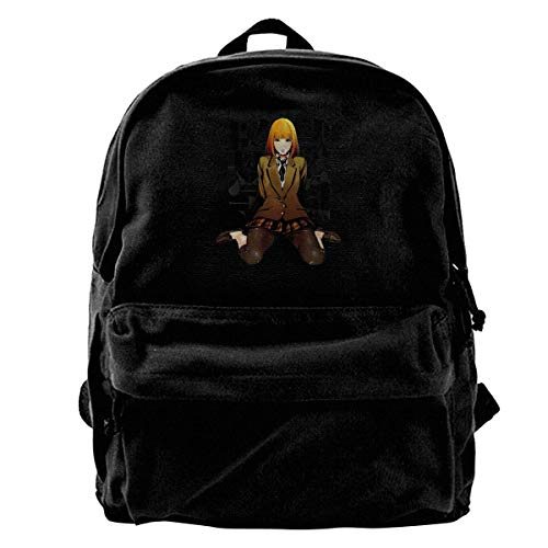 Yuanmeiju Canvas Rucksack Prison School Hana Midorikawa Anime Canvas Backpack Rucksack Bag School Backpack