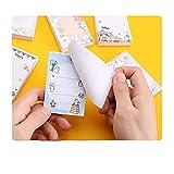 MWIOP Super Sticky Meeting Notes,Adhesivas Linda de la Escuela Pista de Mensaje de Escritorio Regalo...