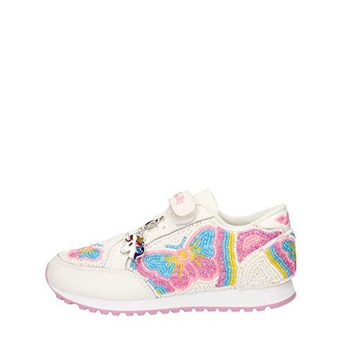Lelli kelly - sneaker principessa con farfalle - 33 - bianco