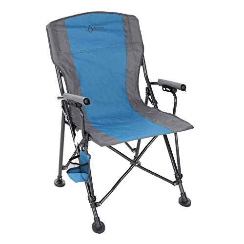 Arrowhead Outdoor Heavy-Duty Solid Hard-Arm High-Back Folding Camping Quad...