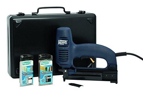 Rapid 10643015 R606 elektrische nietmachine Pro, 240 V, blauw