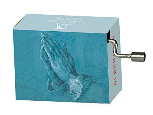 Fridolin Betende Hände Spieluhr,Drehorgel Ave Maria Mini Drehorgel Melodie Schubert