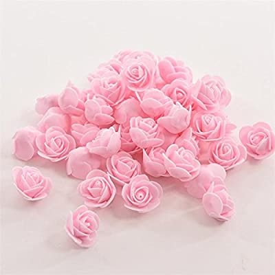 energi8_eu #04 Light Pink Pretty Artificial Silk Fake Leaf Peony Flowers Floral Wedding Party Home