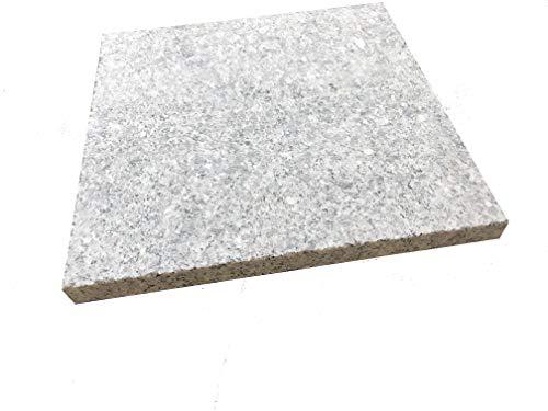 GRANITE SPIRIT - Grillen/backen - Pizzastein aus Granit - Quadratisch 30x30x2cm - Modell Square Eagle