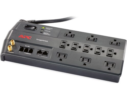The Best APC PERFORMANCE SURGEARREST 11 OUTLET WITH PHONE (SPLITTER), COAX AND ETHERNET P