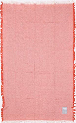 ZUCCHI EASY CHIC Toalla de Playa Pareo 90 x 170 cm Puro algodón teñido Hilo con Flecos anudados