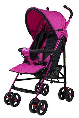 Profiseller CHICCOT Silla de Paseo - Compacto Ligero Plegable Baby Pushchair (Rosa)