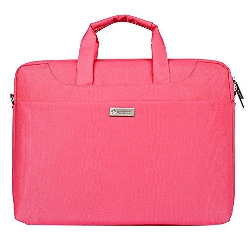 13'' Multi-function Laptop Handbag Canvas Business Briefcase Shoulder Bag