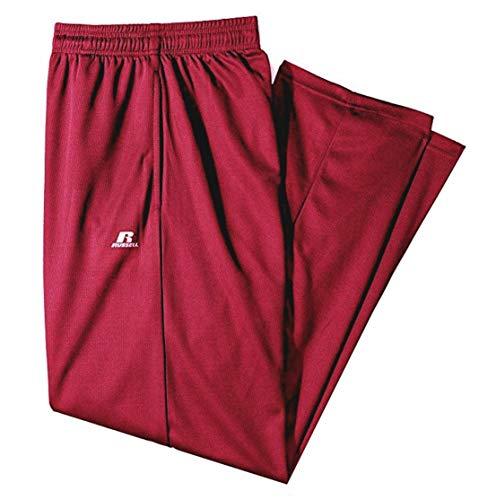 Russell Athletic Men's Big Tall Dri-Power Pant, Burgundy 3XLT