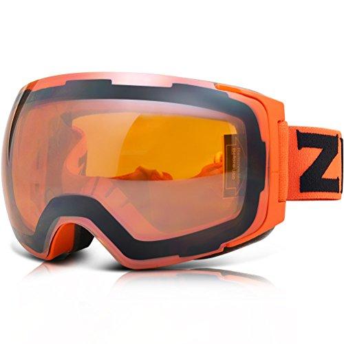 ZIONOR Lagopus X4 Snowboard Gafas esquí Anti Niebla