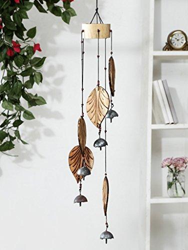 Carillon à vent en pétale de bambou Unravel India