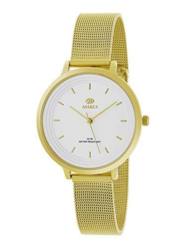 Reloj Marea Mujer B41197/13 Malla Dorado