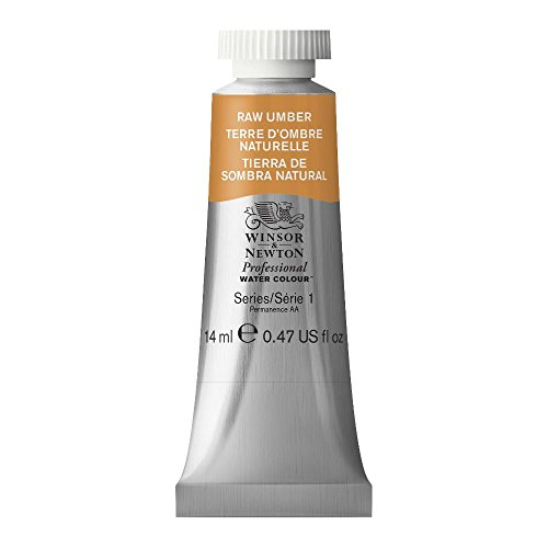 Winsor & Newton Professional Water Colour Paint, 14ml tube, Raw Umber