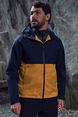 Mountain Warehouse Verge Extreme Chaqueta Impermeable para Hombre -...