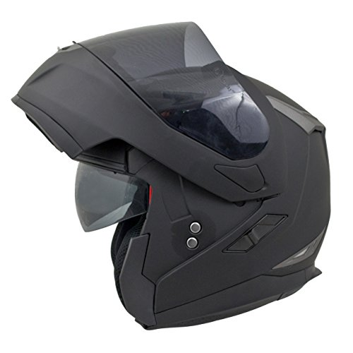59-60cm Viper RS-V171 Flip up Front Helmet BLUETOOTH Motorbike Helmet Matt Black L Free OF211 Oxford Motorbike Helmet Bag