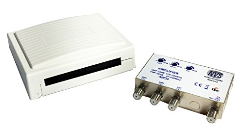 Amplificador Mezclador de mástil Antena de Techo para señales TV/DVB