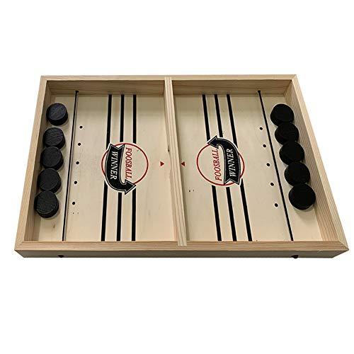szdc88 Bouncing Chess Hockey Game,2 Spieler Finger Hockey Brettspiel Tabletop Toys Gewinner Brettspiele Spielzeug für die Familie