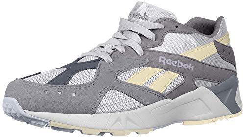 Reebok Unisex Adult's AZTREK Shoes, Cold Grey/White/Bluehills/Washedyellow, 6 M US