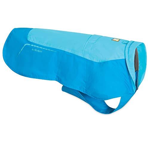 RUFFWEAR, Vert Waterproof Windproof Winter Jacket for Dogs, Blue Atoll, X-Small