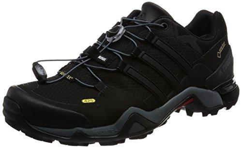 Adidas Terrex Fast R Gtx, Zapatos de Senderismo Hombre, Negro (Negbas/Negbas/Ftwbla), 39 EU