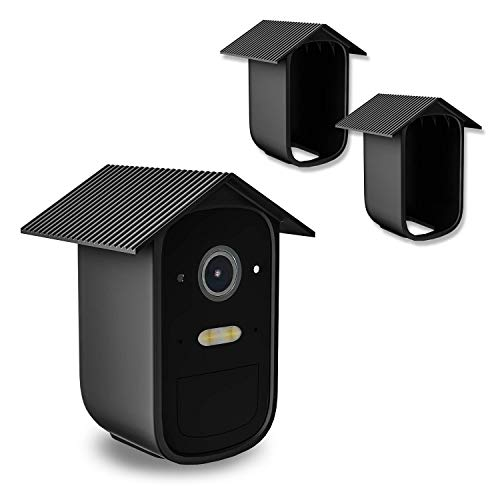 BECEMURU eufyCam Silikonhäute Überwachungskamera Schützen und Tarnen Sie die Kamera mit UV-Licht und wetterfester Silikonhülle für die eufyCam Kamera(2 Pack) (eufyCam 2C)
