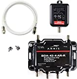 Arris 4-Port Cable, Modem, TV, OTA, Satellite HDTV Amplifier Splitter...