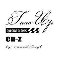 Tune-up mix CR-Z ステッカー ブラック 黒