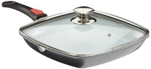 TV - Unser Original 06852 bratmaxx Profi-Steakpfanne Exklusiv, 4-teilig