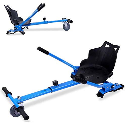 Adjustable Hoverkart, Kart Seat, Attachment Holder Accessory 6.5' 8' 10' Self Balancing Electric Scooter Universal Shock Absorption Cart Hoverboards