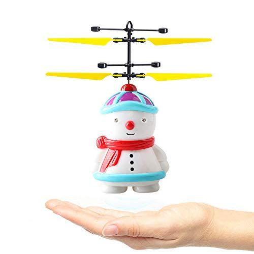 Juguete Volador para NiñOs, Chshe ™, Sensor Infrarrojo EléCtrico MuñEco De Nieve...