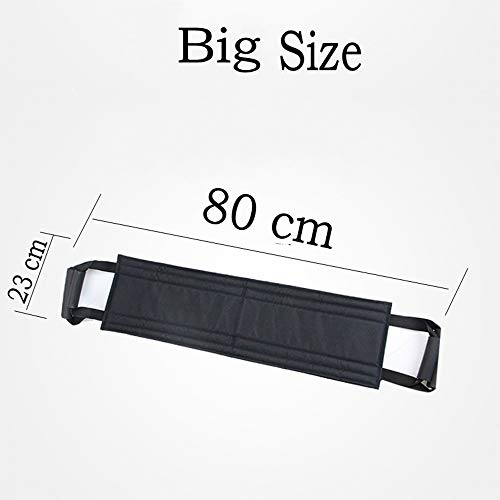 LIUQIGRASS Transfer Belt Patient Elderly Übertragung bewegendes Band Aufzug Sling Aids Auxiliary Riser Rollstuhl Bett Pflege Aufzug Gürtel Hilfsmittel für Ältere,L
