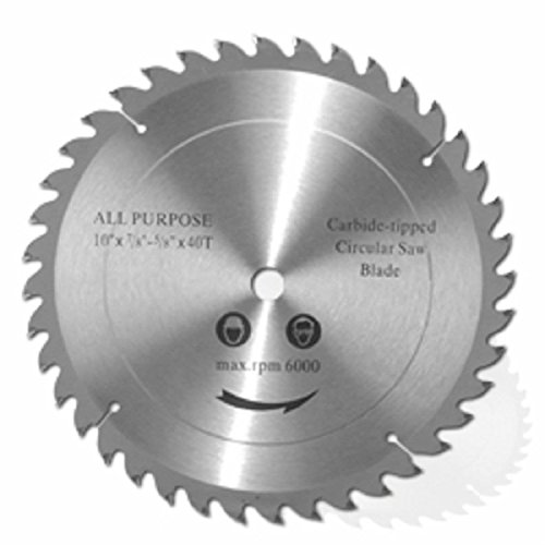 Best Price 10 Pack of 10 Carbide Tipped Tip Saw Blades 40t