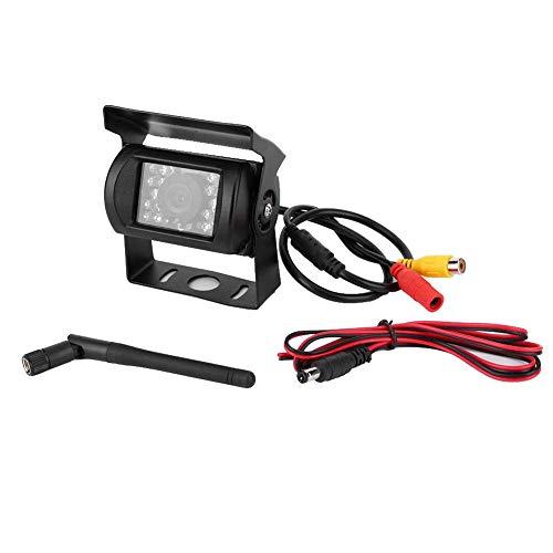 Jadeshay 12V HD wasserdichte Auto Rückfahrkamera Backup-Parkuhr Kompatibel mit LKWs, Pickups, Camper Backup-Kamera