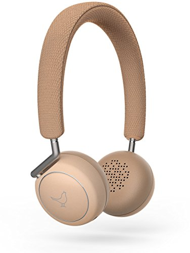 Libratone Q Adapt On-Ear Wireless Kopfhörer mit aktiver Geräuschunterdrückung in 4 Stufen (Bluetooth 4.1 aptX, ANC, 20 Std. Akku, Bluetooth+1, Touch-Bedienung ) elegant nude