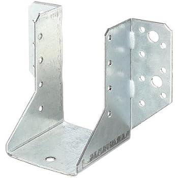 Juego de escuadras de /ángulo para atornillar carga pesada, galvanizadas, con reborde, tama/ño grande GAH-Alberts