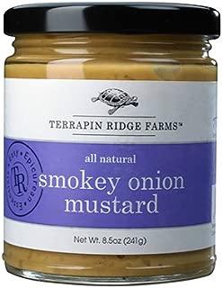 Terrapin Ridge Farms Mustard, Smokey Onion, 8.5 Ounce