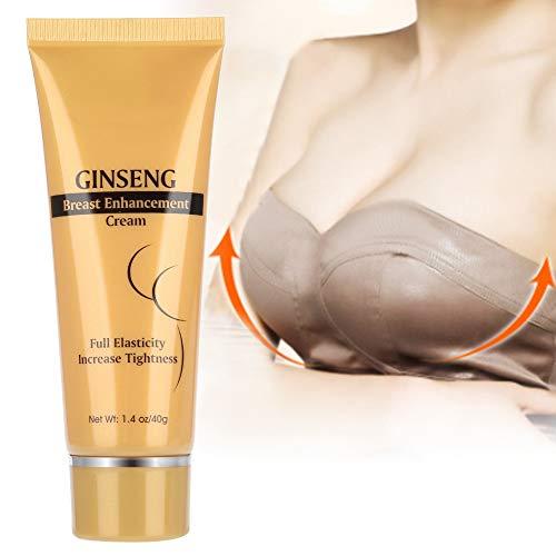 40g Natural Ginseng Brustvergrößerungscreme Bruststraffung Liftingcreme Straffung, Anheben und Praller Brustvergrößerung Anti Aging zur Erhöhung der Spaltung