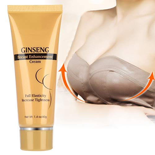 Breast Enlargement Cream, 40g Breast Enhancement Bust Firm Cream Tighten and Lift Breast to Size Up Breast Moisturising Massage Care Cream Moisturiser and Hydration
