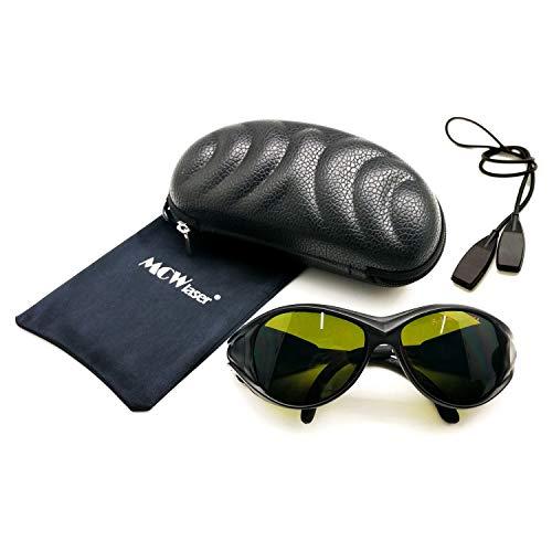 IPL Laser Safty Protective Goggles Gafas 190nm-2000nm Típico para Dispositivos de Belleza y cosmetología Tipo de absorción EP-20 Estilo 2