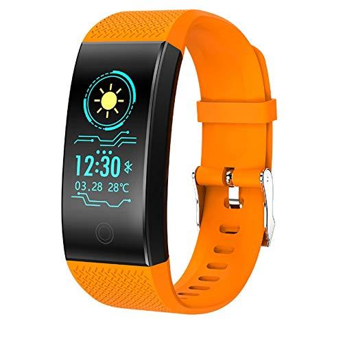 Alvnd Calorie Horloge IP68 Waterdichte Smart Hartslag Slaap Monitoring Armband Sport Fitness Bluetooth Smart Horloge