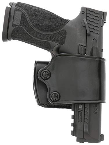 Galco Yaqui Slide Belt Holster Colt Kimber 1911 5' RH Black YAQ212B