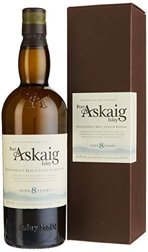 Port Askaig Single Malt Whisky mit Geschenkverpackung (1 x 0.7 l)