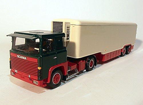 GMTS - G0004724 - Scania S 0 4x2 mit historischem Kofferauflieger Grün rot 1 50