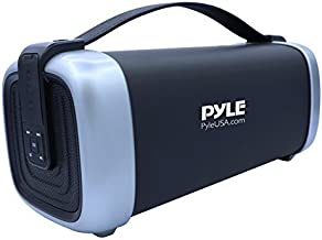 Pyle PBMSQG12 Compact & Portable Bluetooth Wireless Speaker with Built-in..