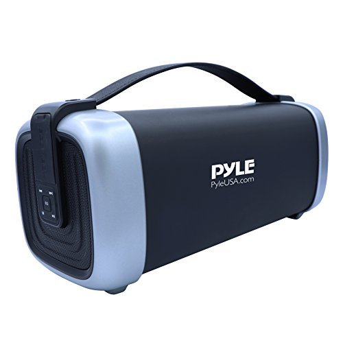 powerful Pyle's Portable Wireless Bluetooth Speaker is a compact audio system with a rugged 200W housing, stereo …
