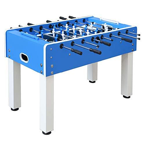 Devessport - Futbolín Outdoor Exterior Ideal para Jugar con Amigos - Profesional - Barras de Metal - Mango de plástico - Retorno de Bolas - Dispone de marcadores - Medidas: 141 x 74 x 88 Cm